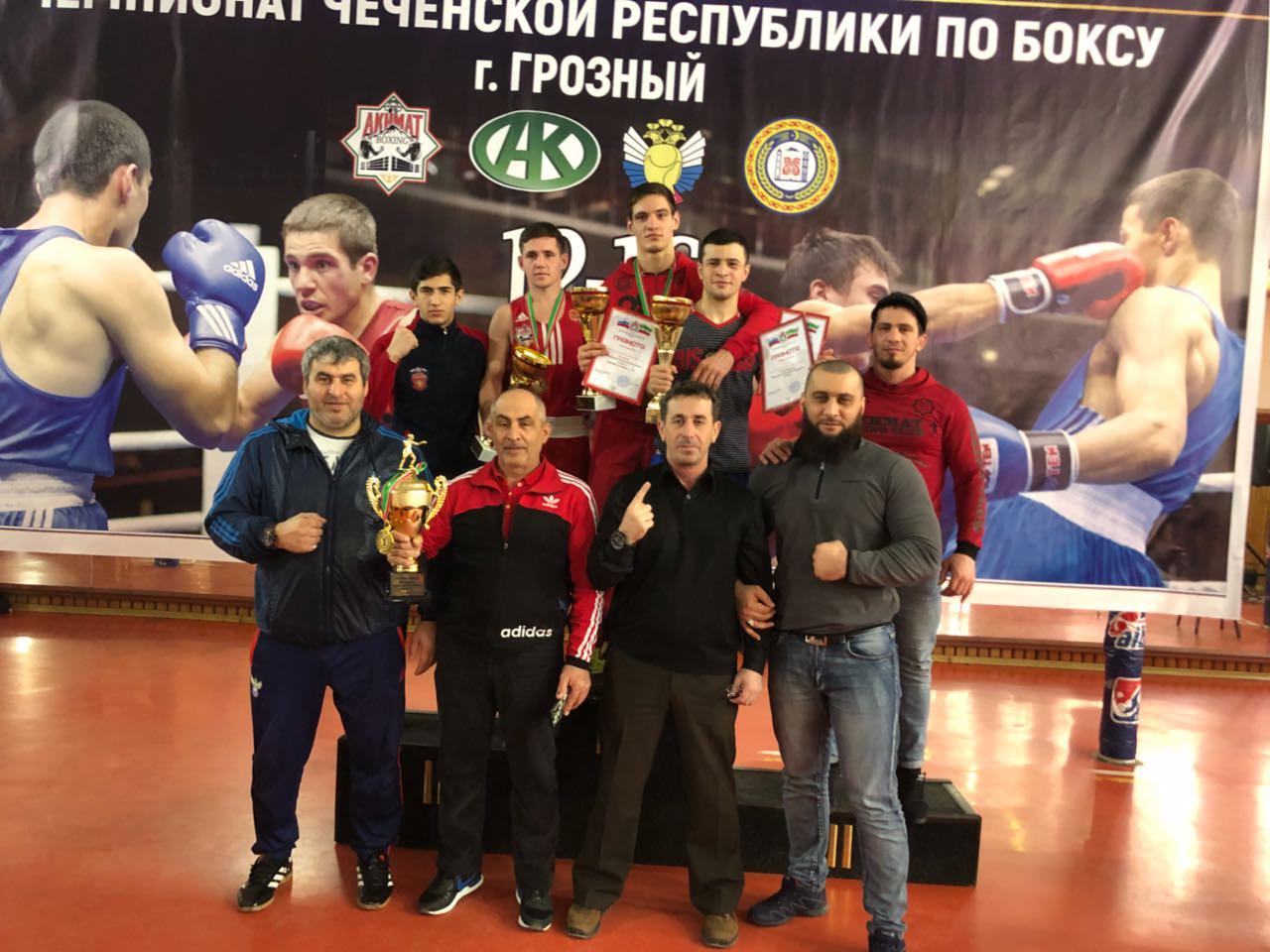 Чемпионат Чеченской Республики по боксу среди мужчин 19-40 лет